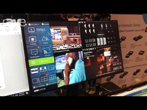E4 AV Tour: ATEN Shows VP2730 7×3 Presentation Matrix with HDMI, VGA, DisplayPort and HDBaseT