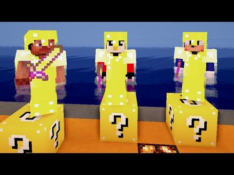 Minecraft: Lucky Block Race 2! w/ maxsialtele, SnakeMC96, LoQ4GaminG