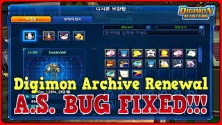 DIGIMON ARCHIVE RENEWAL  &  ATTACK SPEED BUG FIXED!!! ✧ KDMO
