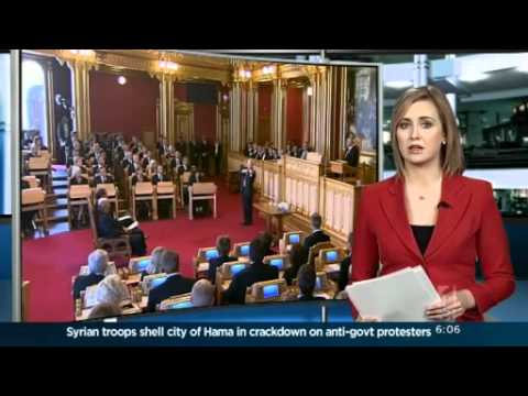 Norwegian parliament pays tribute to attack victims
