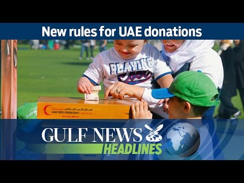 New rules for UAE donations - GN Headlines