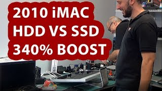 2010 iMac 340% performance boost replacing HDD with SSD
