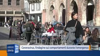 Coronavirus, l'indagine sui comportamenti degli italiani durante l'emergenza