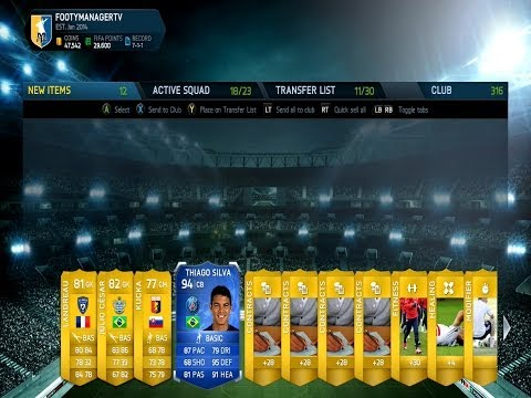 FIFA 14 - TOTY THIAGO SILVA IN A PACK! - NEXT GEN ULTIMATE TEAM PACK OPENING (XBOX ONE)