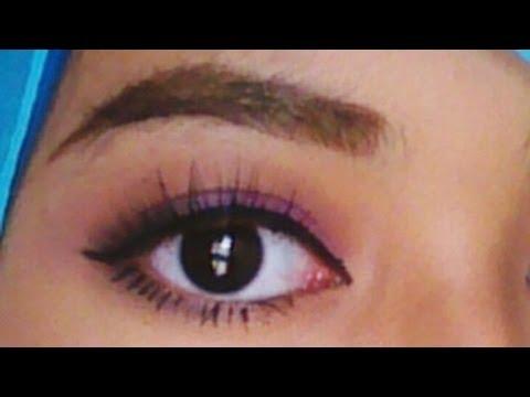 Repeat    tutorial natural bagi pemula Raudhah Make makeup Up Mata Besar Gaya mrepeat.com  Ayu  Cara