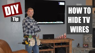 How to Hide TV Wires | Code Compliant TV Wiring