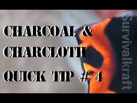 Keeping Char Cloth Safe from Moisture — Quick Tip # 4