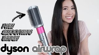 Dyson Airwrap Firm Smoothing Brush VS Straightener | Hair Review & Tutorial
