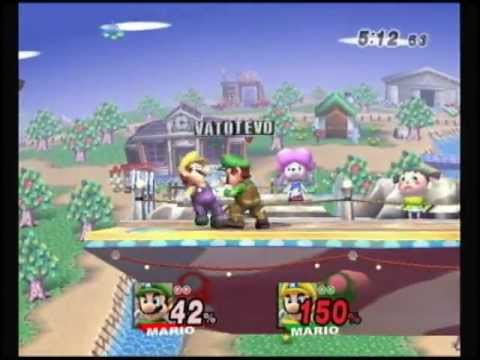 SSBB:Stevo vs Vato_Break Mario MM 1