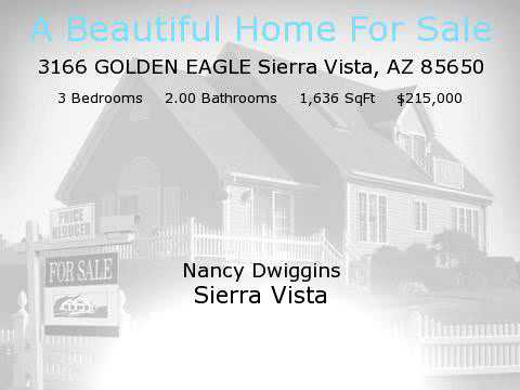 3166 GOLDEN EAGLE, Sierra Vista, AZ 85650