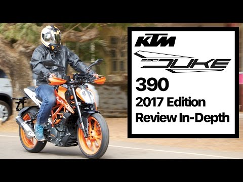 Duke 390 2017 Edition Review, TFT Display, Exhaust note and In-depth Test Ride