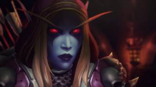 World of Warcraft - Legion | Sylvanas Warchief - Dalaran Moves