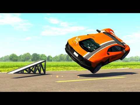 High Speed Rollover Crashes - BeamNG DRIVE EP2