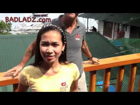 Philippines HOT GIRLS - Meet the Waitresses at BadLadz Adventure Resort