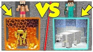 COSA SCEGLI TRA CALDO E FREDDO? - Minecraft ITA