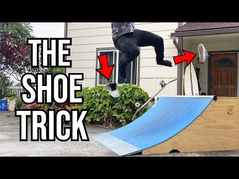 LANDING A TRICK WHILE MY SHOES FLY OFF
