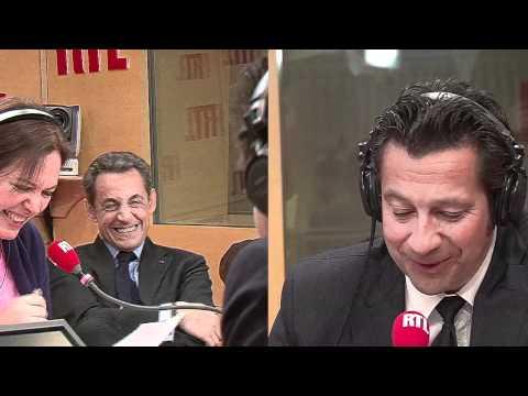 La chronique de Laurent Gerra devant Nicolas Sarkozy (réalisation Gaya Bécaud)