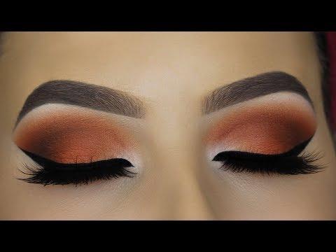 Classic Brown Cat Eye Makeup Tutorial