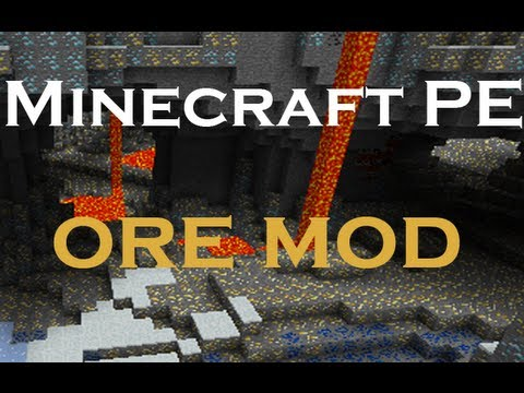 Minecraft PE mod review - Ore worlds