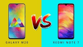 Samsung Galaxy M20 Vs Redmi Note 7 - THE REAL WINNER ?