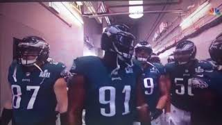 Super Bowl LII Player And Team Introductions
