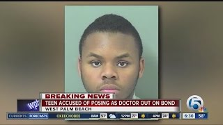 Black Teen Fake Physician Out On Bail