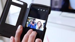 Hands-on: Motorola Droid Turbo Flip Case