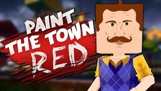THIS SHOULD HAVE BEEN ALPHA 5 - Hello Neighbor Workshop Levels - Paint the Town Red