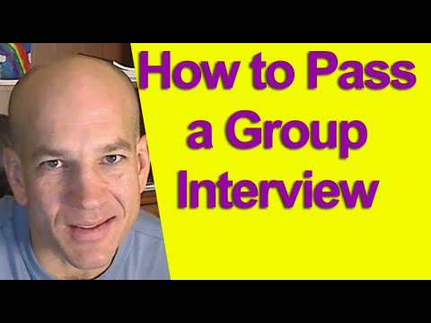 Group job interview tips - how to ace a group job interview