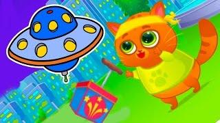 КОТЕНОК БУБУ #30 - Мой Виртуальный Котик - Bubbu My Virtual Pet игровой мультик для детей #ПУРУМЧАТА
