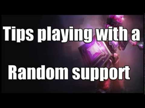 Tips and advice on how to play AD carry with a random support