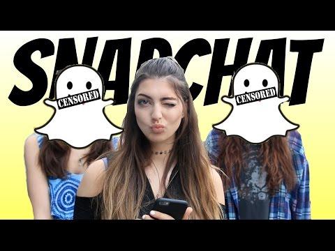 Snapchat In Real Life!