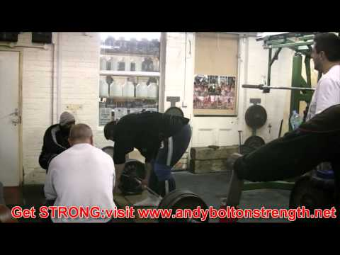 Andy Bolton Squat & Deadlift Training Image 1