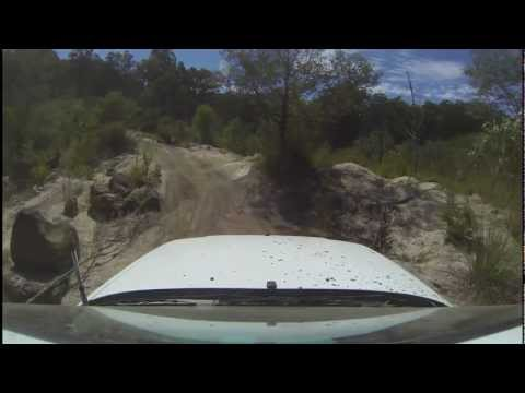 Subaru Forester Off Road - Bunyip State Park - Powerline play track 4