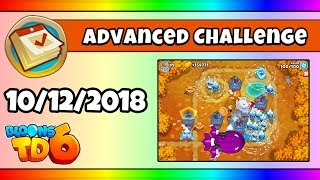 BTD6 Advanced Daily Challenge (FRIDAY STINGER; STAY FROSTY BY ALIENSROCK) - October 12, 2018