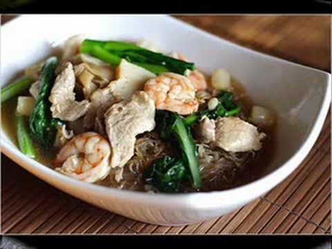 Thai Food Menu - Som Tum. Noodle Soup