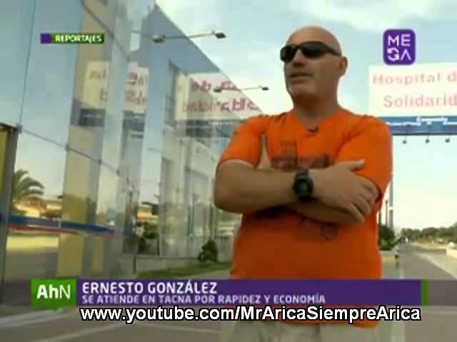 Arica Obtiene Salud Digna, Expedita y Barata en Tacna Perú