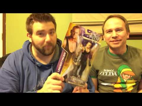 WWE WrestleMania 30 Series Figures UNBOXING!! Brock Lesnar. Undertaker. The Rock. Cena