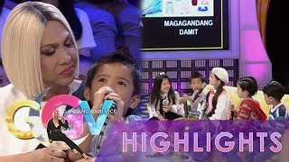 "GGV: The Just Kids League engage in a fun ""One Has to Go Forever"" game"