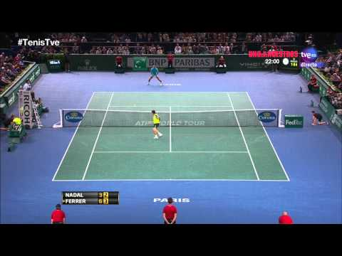 Nadal vs Ferrer HIGHLIGHTS Masters 1000 Paris 2013 SF TRUEHD