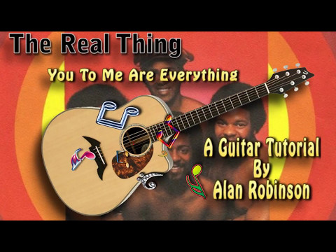 You To Me Are Everything - The Real Thing - Acoustic Guitar Lesson (easy-ish)