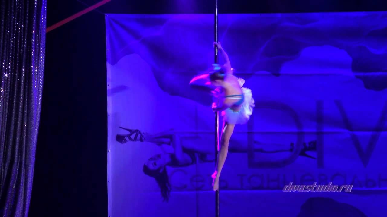 """Отчетный концерт Pole Dance в клубе """"Олимпия"""" 07.06.2015 года. Педагог Оксана Веселова"""