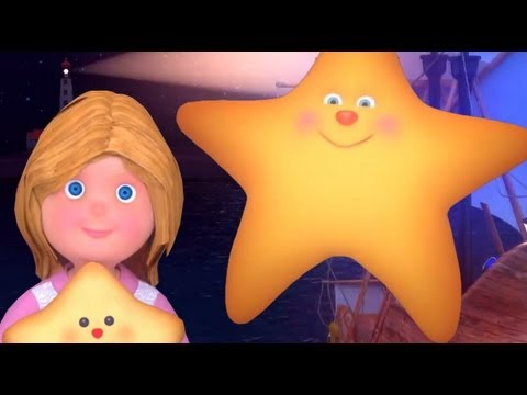 Twinkle Twinkle Little Star, Full Version - Cute Animation. Perfect For Homeschool Families video