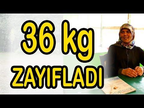 36 kg Zayıflama - Bir Nefes Aldım Hayatım Değişti... HK Performans Zayıflama Kampı