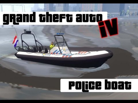 GTA 4 Police Dinghy [NL]
