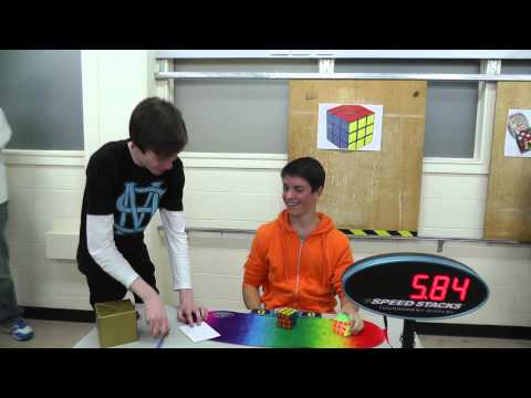 3x3 official solve: 5.84 seconds