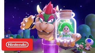 Super Mario 3D World Gameplay Trailer - Wii U