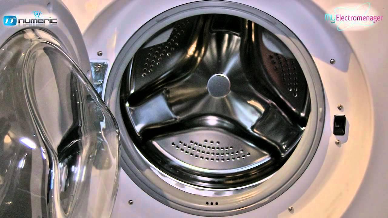 lave linge lg direct drive 12kg r f f24953whs youtube. Black Bedroom Furniture Sets. Home Design Ideas