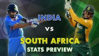India v South Africa, T20I Series: Stats Preview