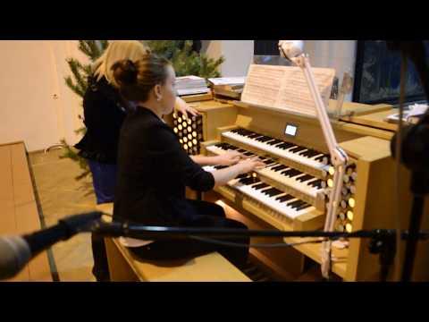 Иоганн Себастьян Бах - Прелюдия и фуга для органа ми-бемоль мажор («Св. Анна»)